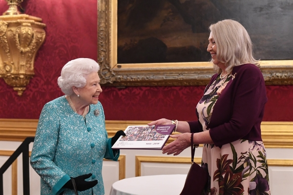 Her Majesty The Queen attends reception to mark the 60th anniversary of Cruse Bereavement Care