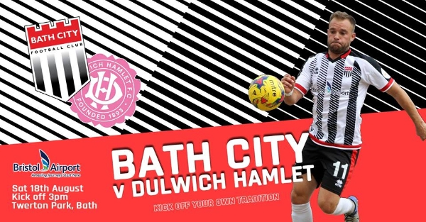 Bath City take on Dulwich Hamlet this Saturday