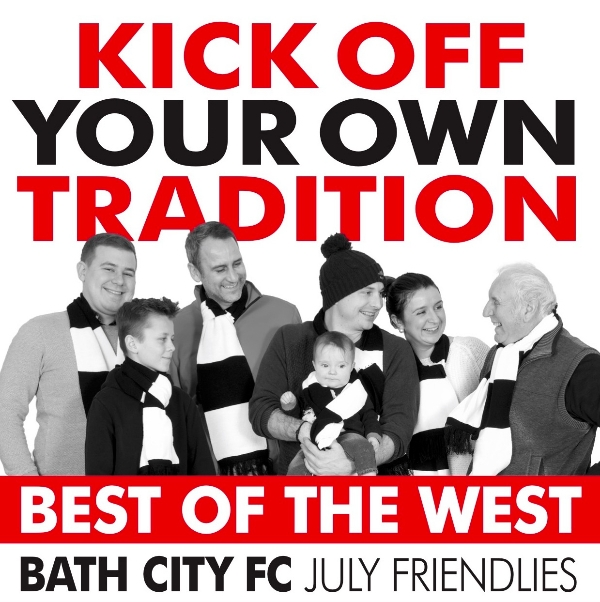 Bath City v Newport County - Friday night friendly match