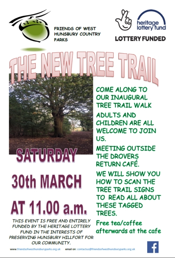 Hunsbury Hill Country Park launch of Tree Trail