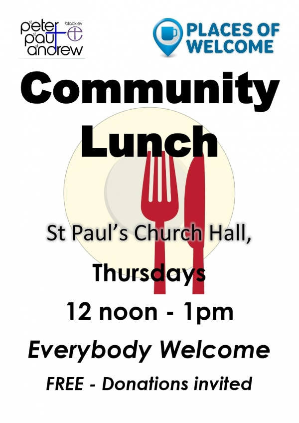 Community Lunch - Every Thursday!!