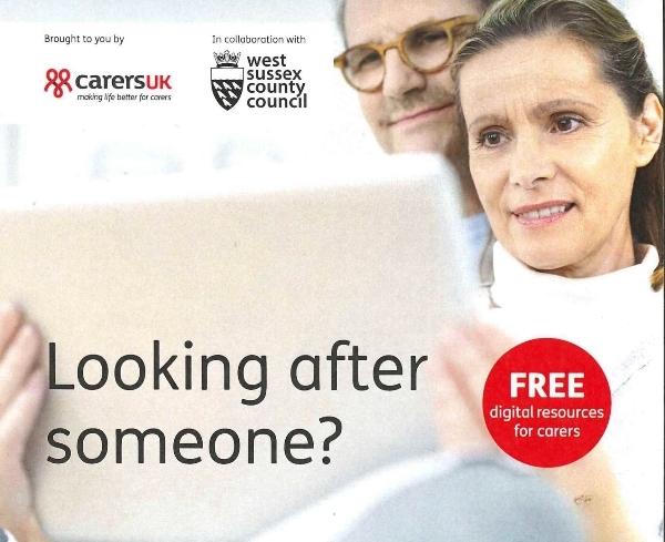 Carers UK Free  Digital Offer West Sussex