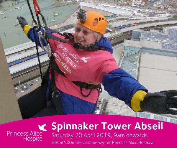 Are you brave enough to take on the Spinnaker Tower Abseil