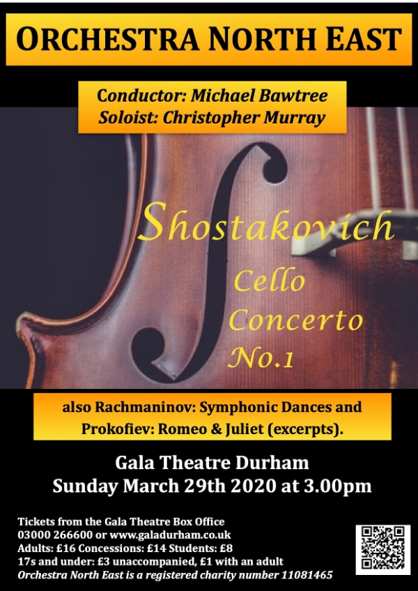 Orchestra North East Concert March 2020