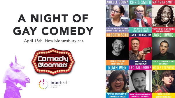 Intertech @ Comedy Bloopers - A Night of Gay Comedy
