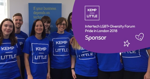 Kemp Little Sponsor Story - Proud to share our values around diversity and inclusion...