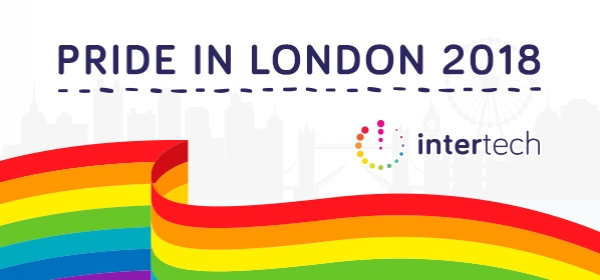 Intertech @ Pride in London - Tickets Live Tomorrow!