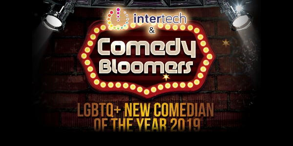 Intertech @ Comedy Bloomers - LGBTQ+ Comedian of the Year 2019