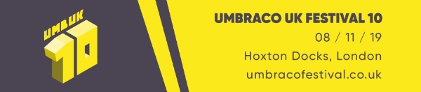 Umbraco UK Fest - 2 free tickets available...
