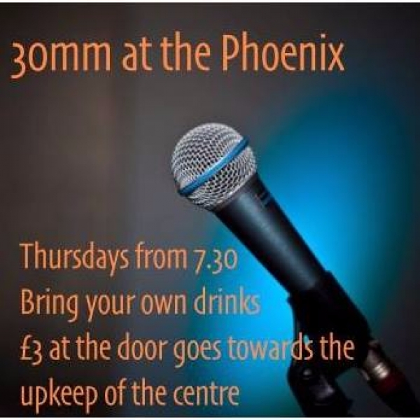 Coming soon - weekly open mic/feature/jam nights at the Phoenix