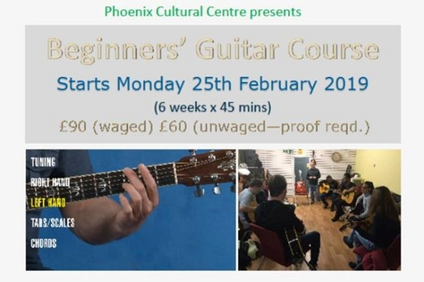 Beginners' acoustic guitar course