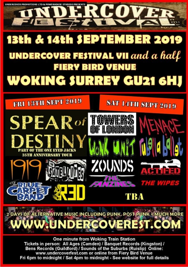 Undercover Festival VII and a half