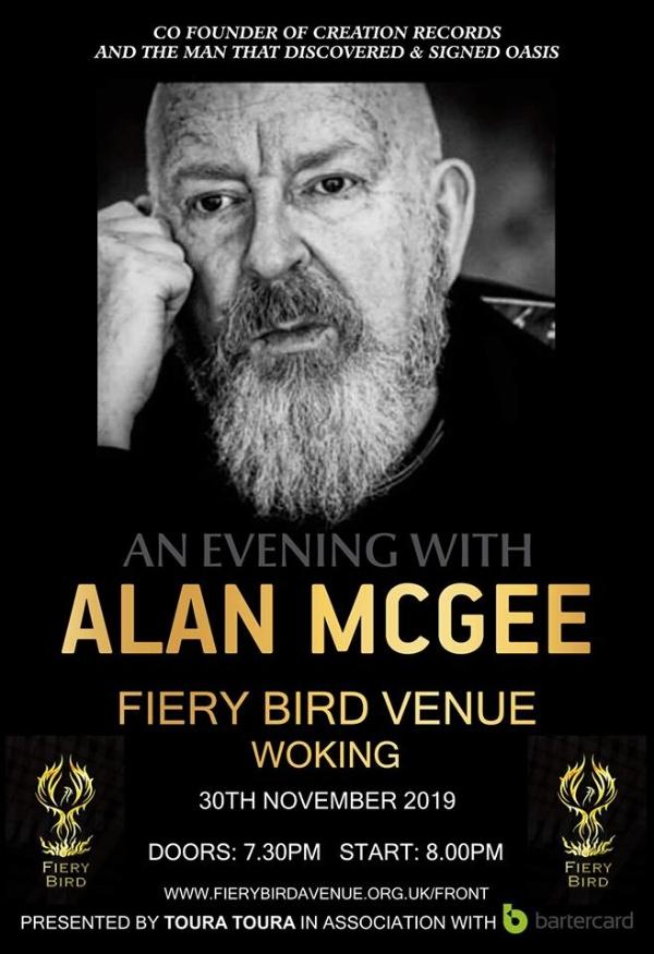 An evening with Alan McGee