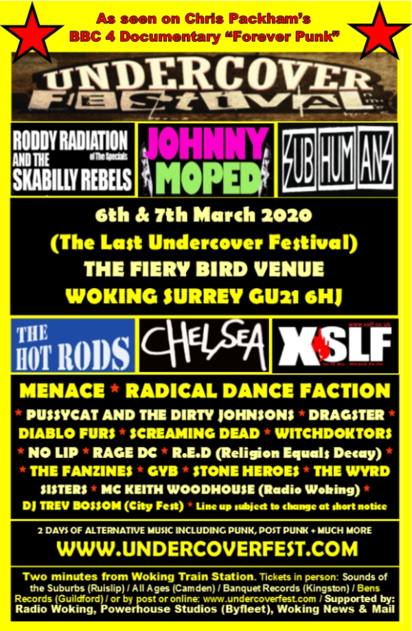 Undercover 8 – the final ever Undercover Festival