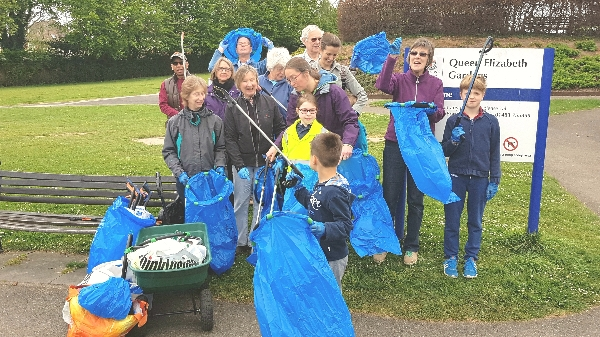 Horsell Monthly Litter Pick, Saturday  @ 10am - Woodham Road