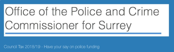 Have your say on police funding in Surrey