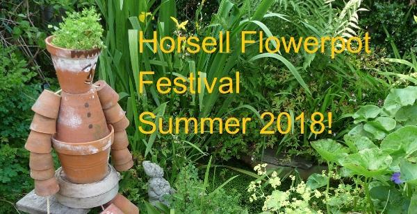 Horsell Flowerpot Festival - Summer 2018!