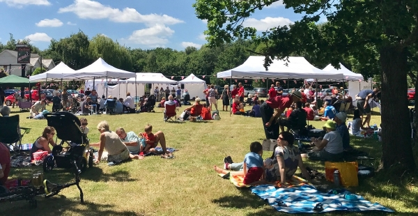 Picnic on the Green needs your help to set up and pull down gazebos 8am - 10:30am and 4-5pm on Sunday 1 July