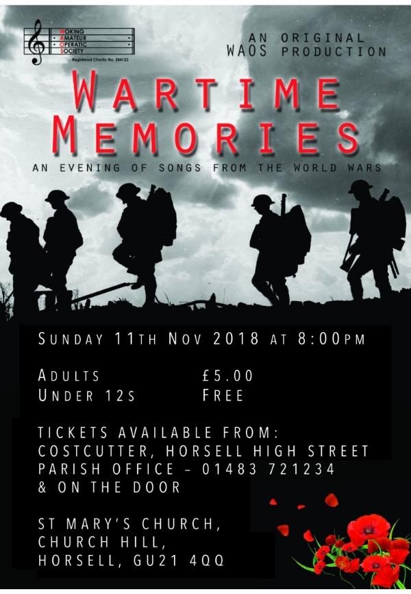 Wartime Memories Concert
