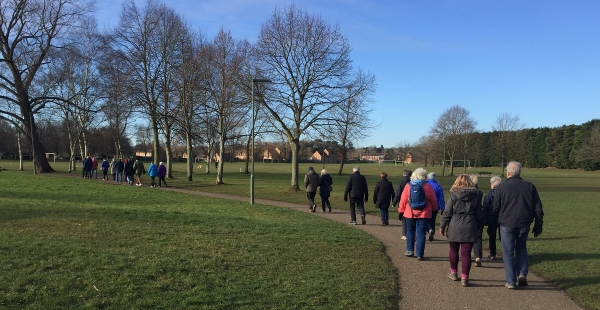 Horsell Wednesday Weekly walk - 14 November @ 9:50am for 10am