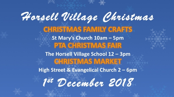 Horsell Village This Christmas - Saturday 1 December from 10am