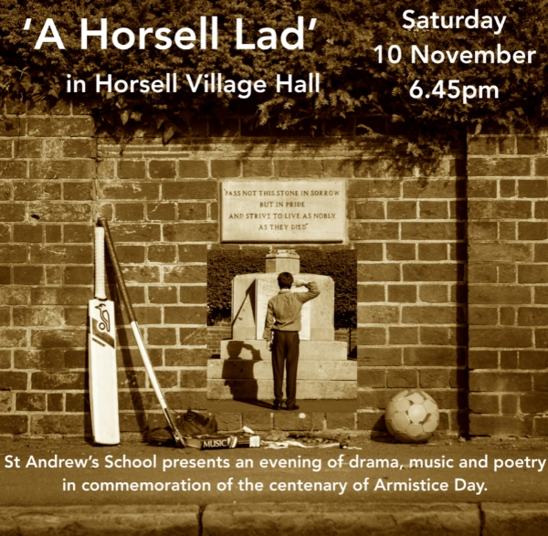 A Horsell Lad - Horsell Village Hall - Saturday 10 November 6.45pm