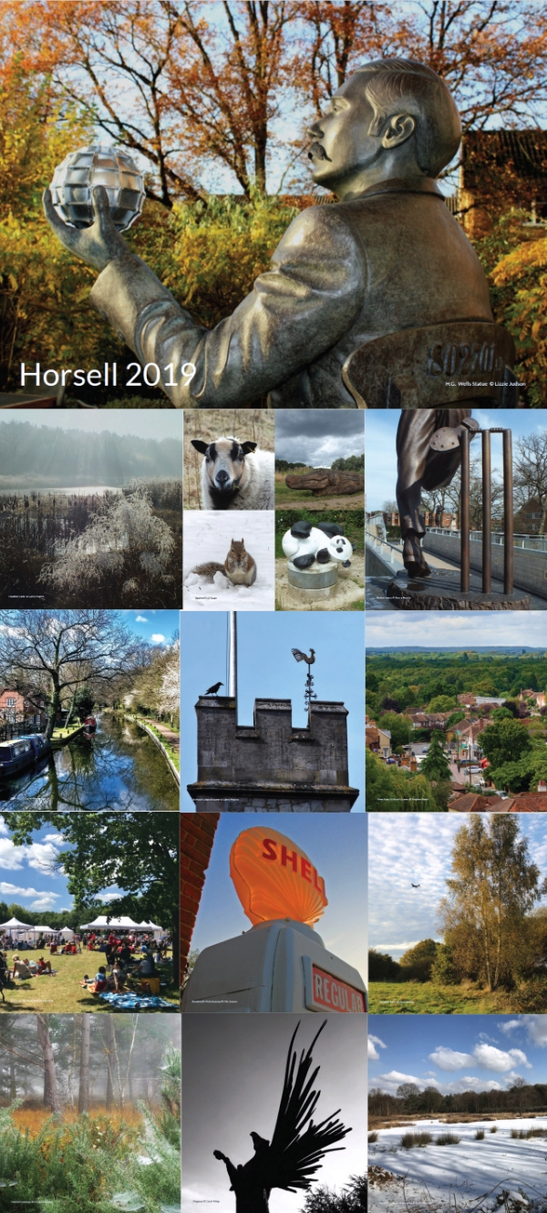 The 2019 Horsell Charity Calendar - Now Half Price