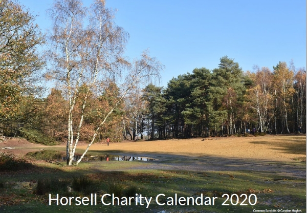 Horsell Charity Calendar 2020 NOW ONLY £3!