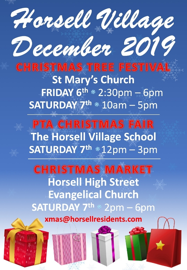 Horsell Village This Christmas - Friday 6 - Saturday 7 December