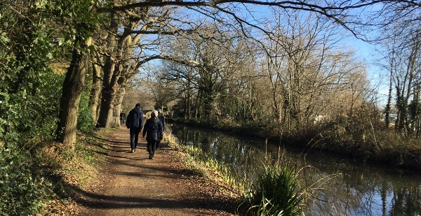 Horsell Wednesday Weekly walk - 19 February @ 9:50am for 10am