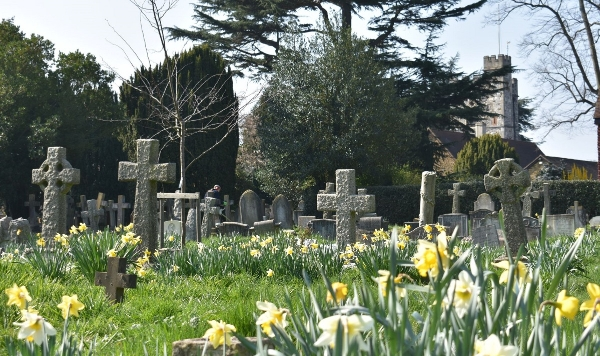 Adopt a grave in St Mary's Churchyard