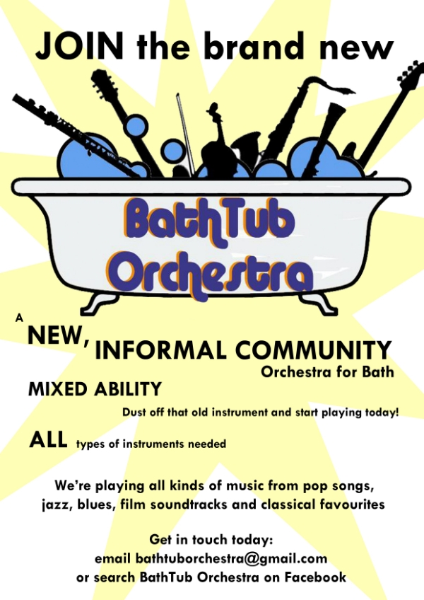 BathTub Orchestra welcomes more budding musicians