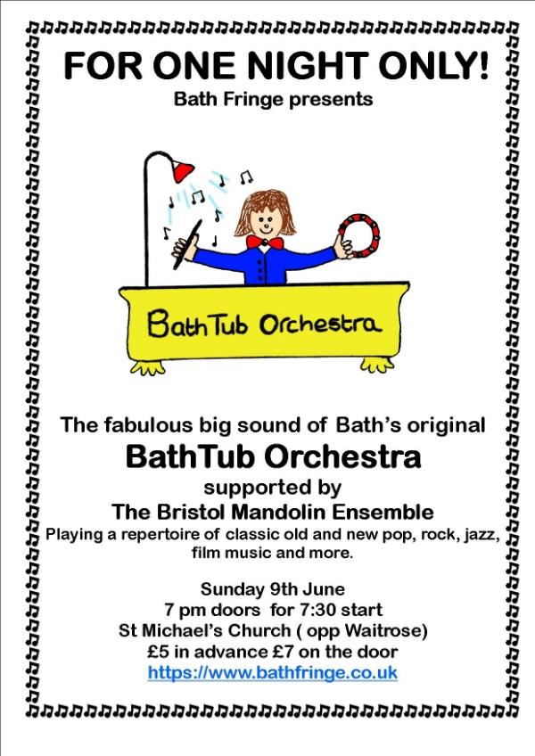 BathTub Orchestra Bath Fringe Concert