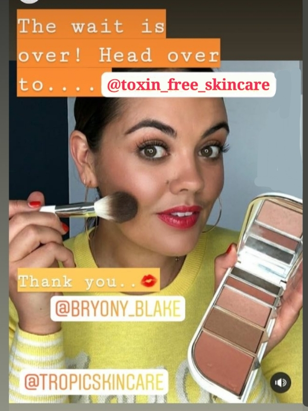Toxin free makeup collection launch