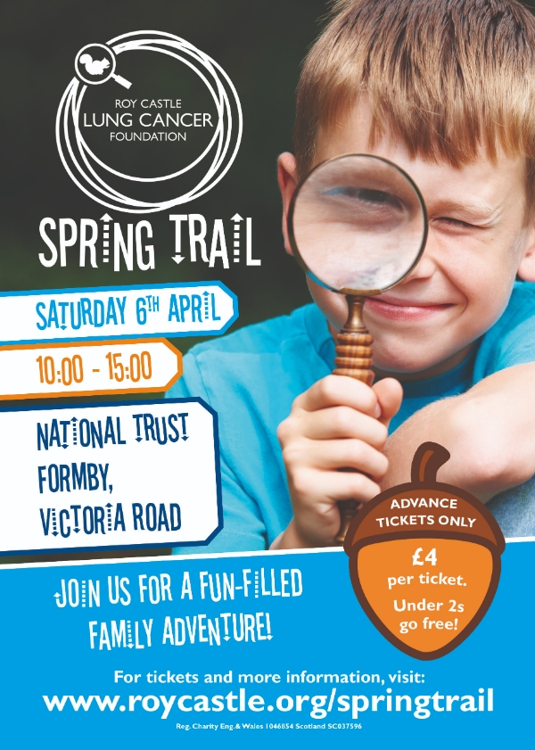 Cracking start to half-term as charity's Spring Trail brings puzzles and obstacles to Formby