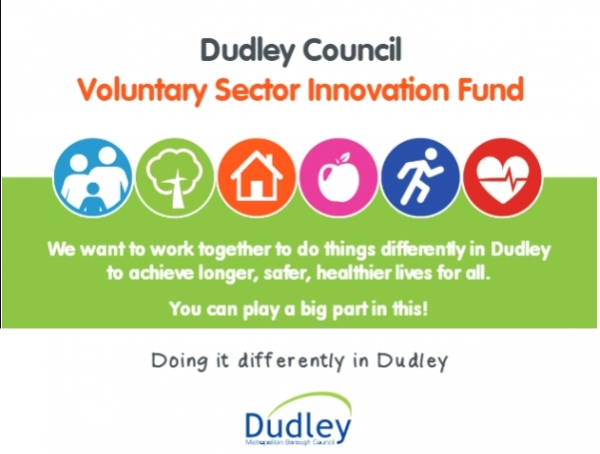 Dudley Council Voluntary Sector Innovation Fund - Drop-in Session
