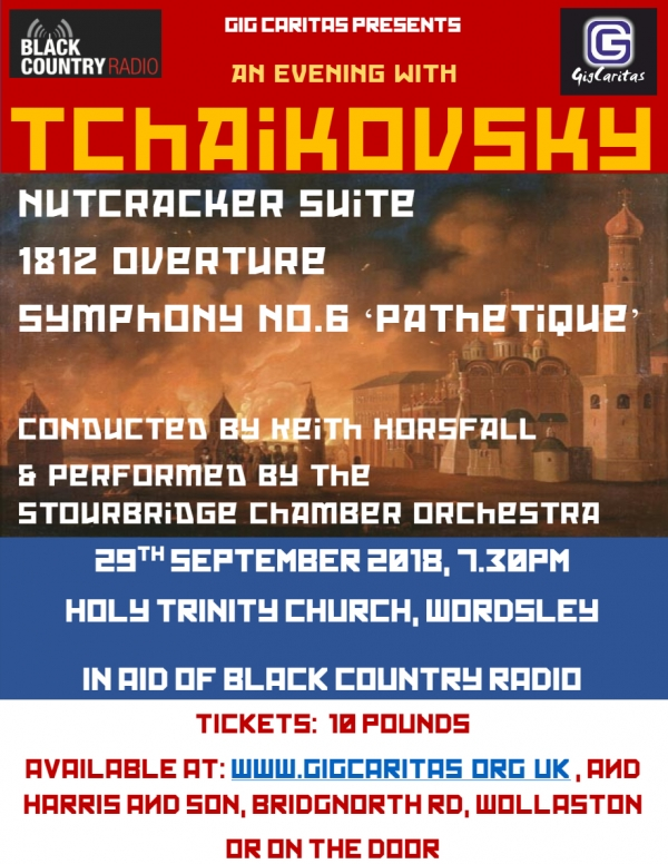 stourbridge chamber orchestra to perform tchaikovsky at his best