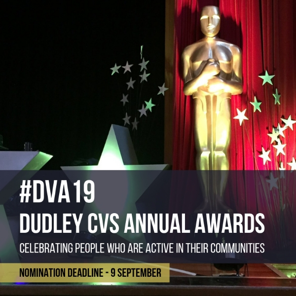 Time's running out to nominate local stars for Dudley CVS Annual Awards - Celebrating people who are active in their communities