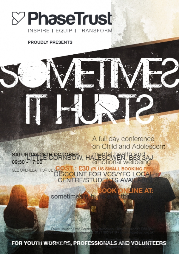 Sometimes It Hurts - Phase Trust Conference