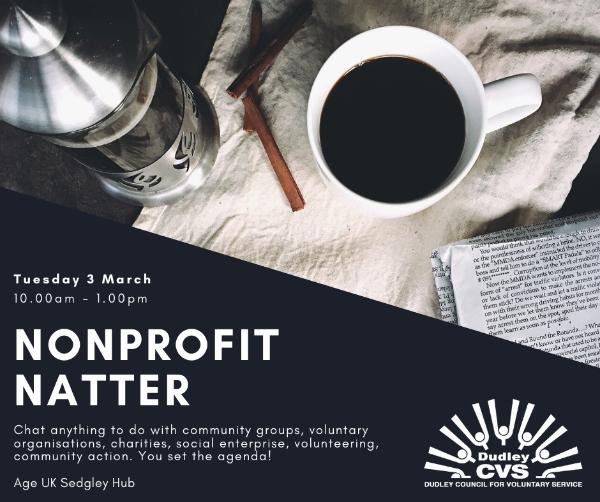 Nonprofit Natter in Sedgley