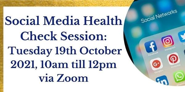 Social media health check session from SCVO