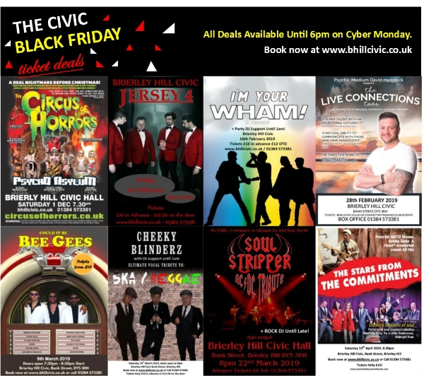 ***CIVIC BLACK FRIDAY DEALS!***