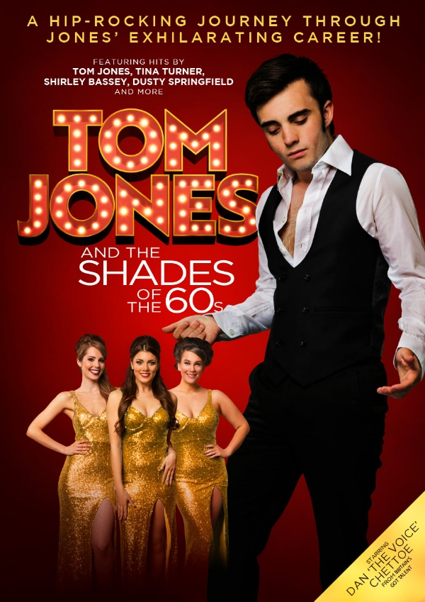 **Win Tickets To Tom Jones & The Shades Of The 60s**
