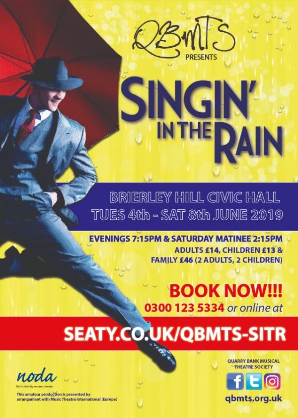 'Singin In The Rain' Starts Tonight!**