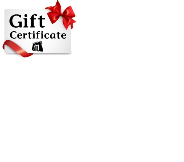 **Gift Certificates Now Available**