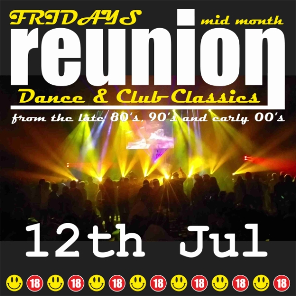 **ReUnion Is Back Next Friday - Win Tickets!**