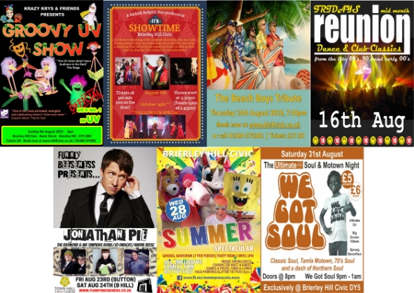 **This August @ The Civic**