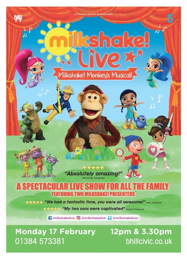 **Fantastic Kids Shows Appearing At The Civic**
