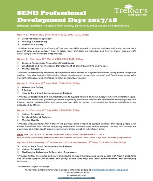 Training: Send Professional Development