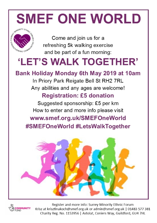 Let's Walk Together - charity 5k walk for all ages